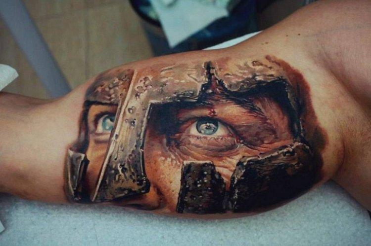 Десять лучших объёмных татуировок по версии ipicture.ru
