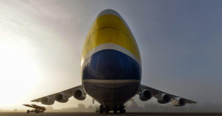 Самый большой самолет в мире Ан-225 «Мрия»