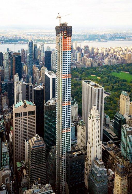 Фотографии Нью-Йорка с высоты птичьего полёта (первая часть)