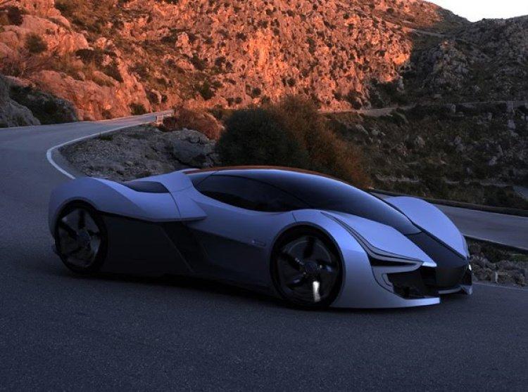 2025 Aerius EV hypercar.