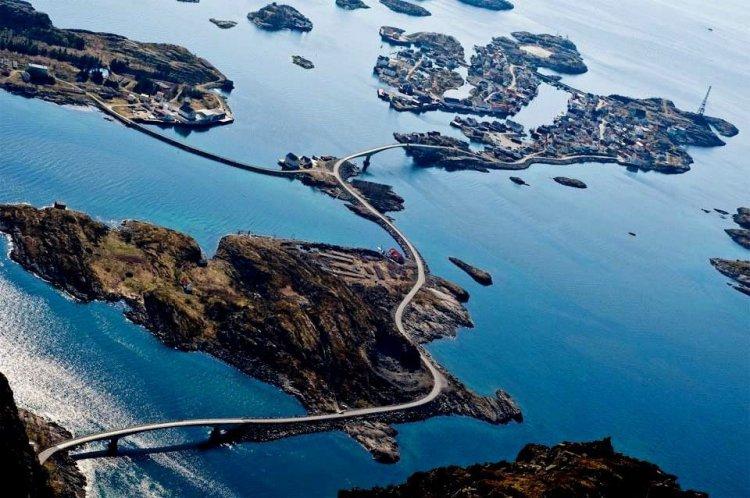 7 фото удивительной Атлантической дороги в Норвегии