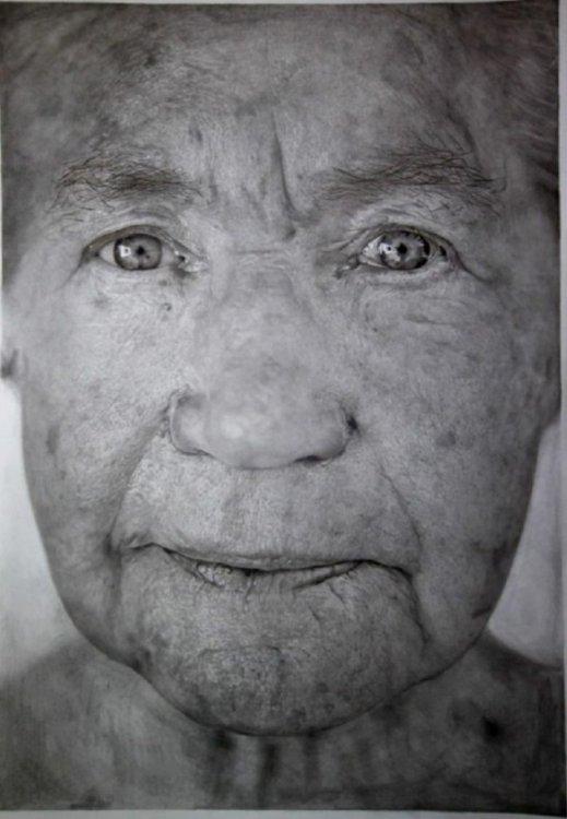 Реалистичные рисунки карандашом – мозг будет в шоке (автор Пол Кадден)