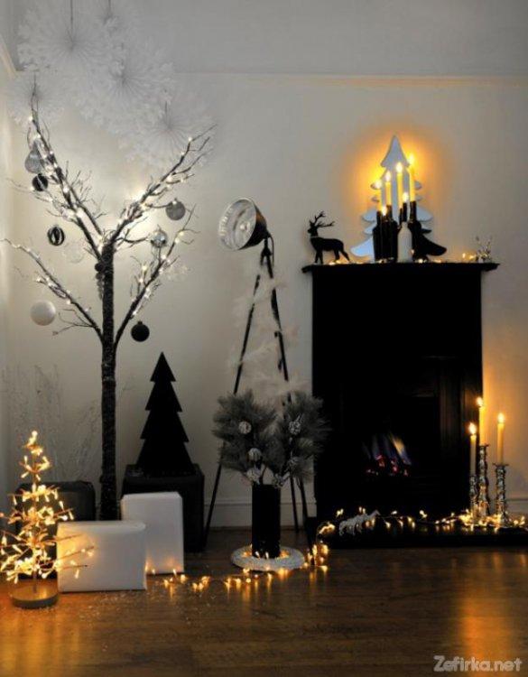 10 идей новогоднего украшения интерьера