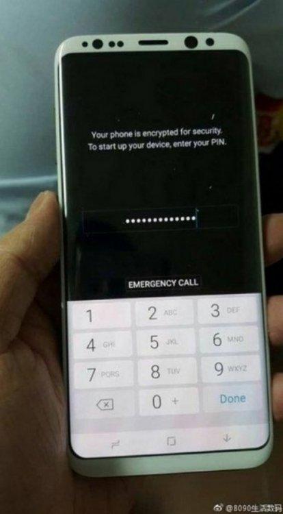 Первые фото белого Samsung Galaxy S8