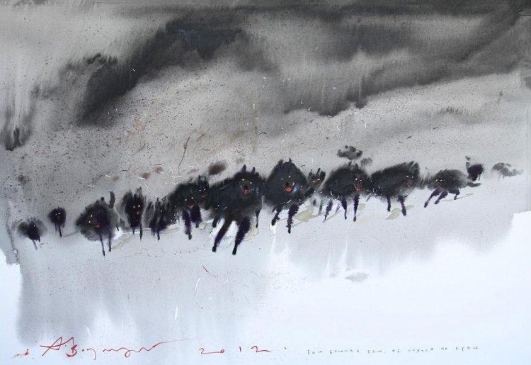 Мастер акварельной живописи: крымчанин Аруш Воцмуш