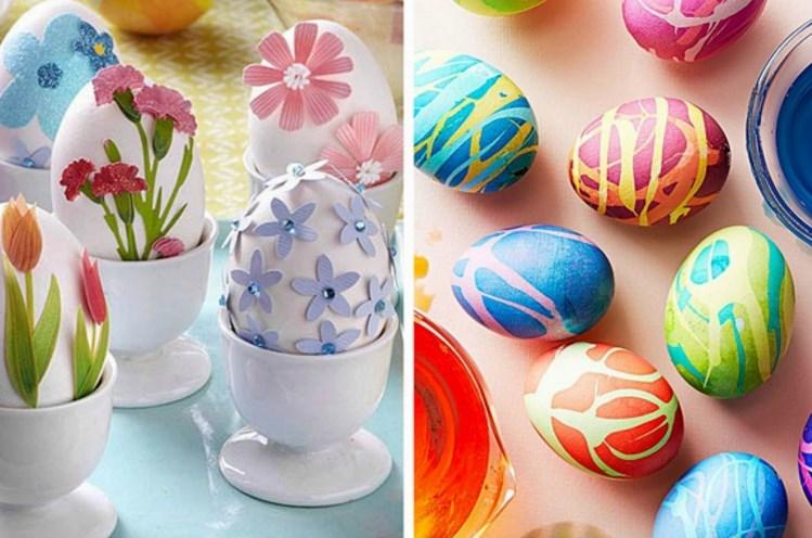 Актуальные идеи декора пасхальных яиц