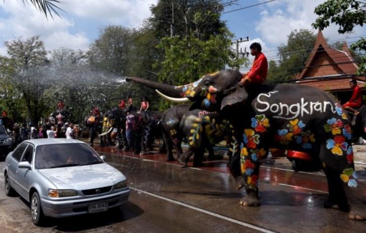 В Таиланде в разгаре новогодние гуляния