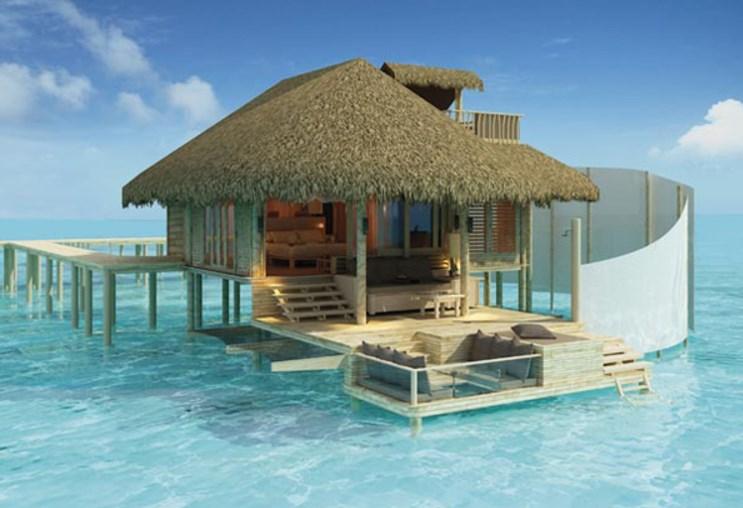 Идеальное место для уединенного комфортного отдыха – райский остров Лааму