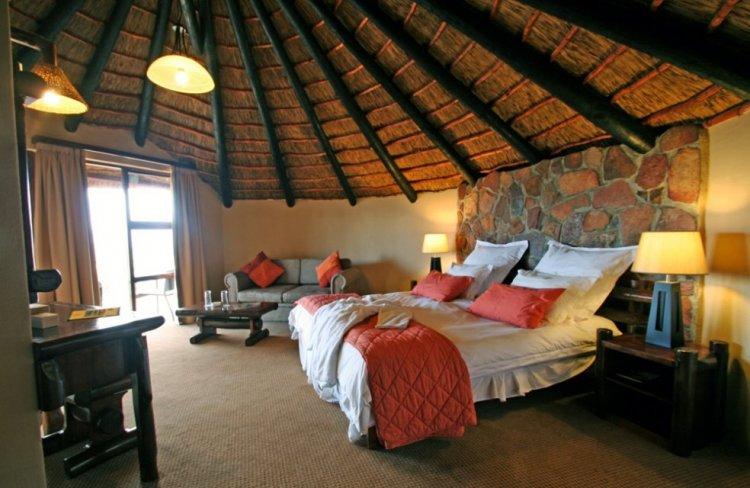 Пещерная современность: уникальный отель Южной Африки