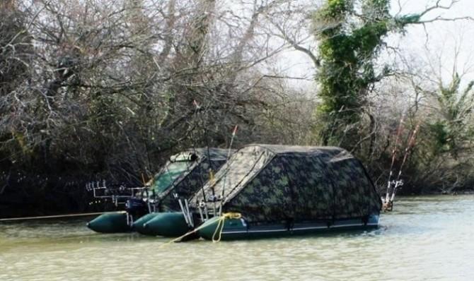Любителям рыбалки посвящается: палатка-плот