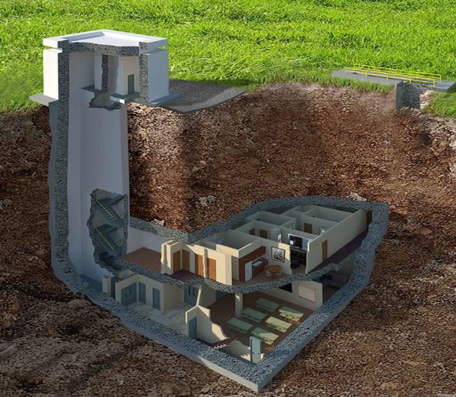 Роскошный ядерный бункер стоимостью $ 17,5