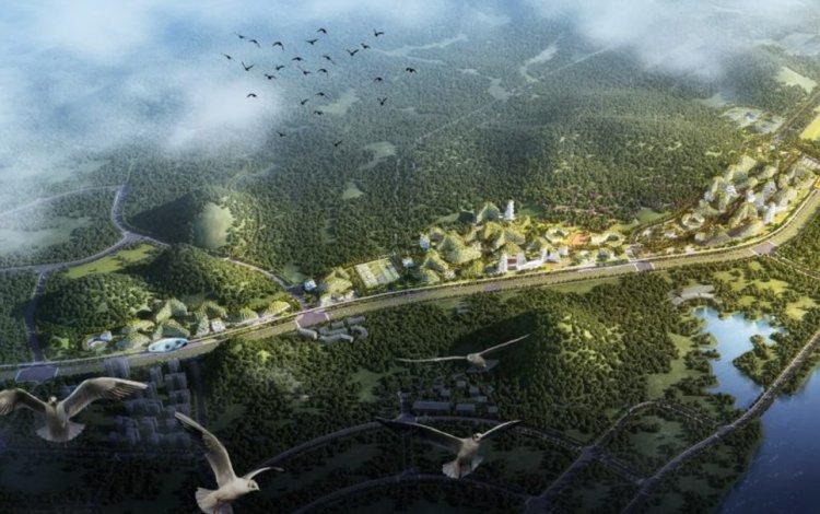 Лючжоу Форест Сити – китайский экогород будущего