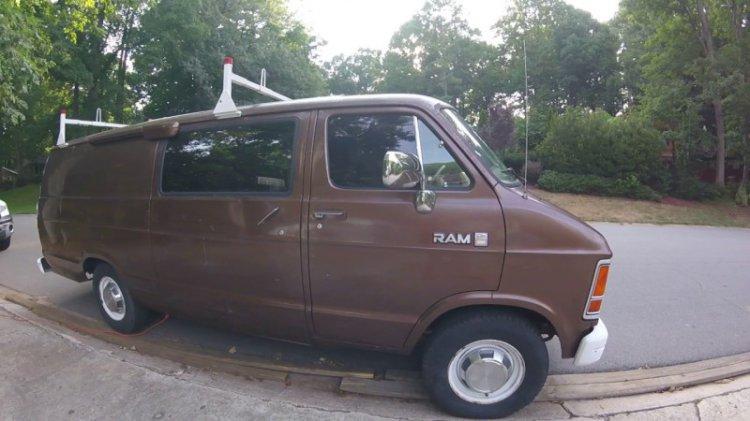 eBay продан самый настоящий фургон для слежки