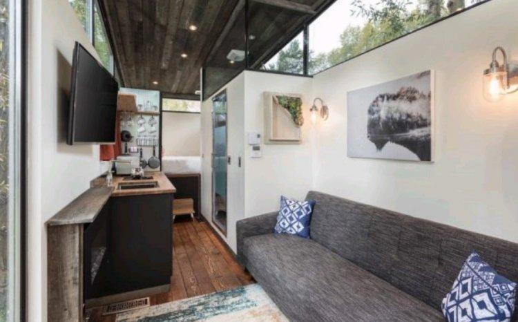 Домик-мечты размером с 1 комнату