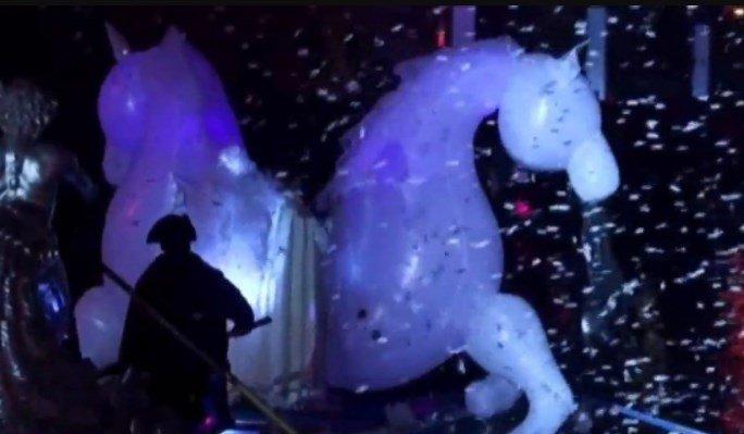 Открытие карнавального сезона в Венеции