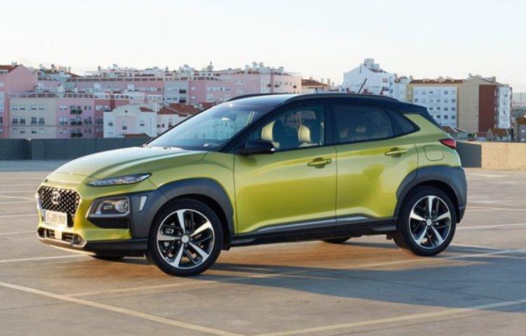 Hyundai показала на автосалоне в Женеве кроссовер на электротяге