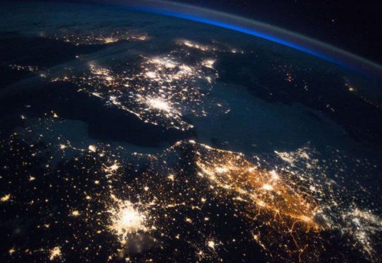 Лучшие снимки с орбиты за прошлый год