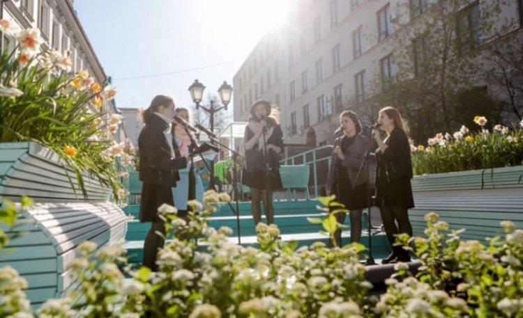 На фестивале «Московская весна A-Capella» присутствовало более 6 миллионов человек 4