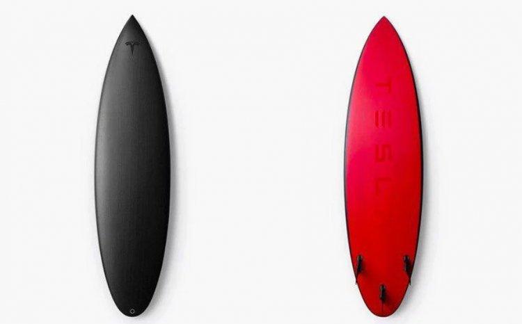 Tesla создала доски для занятий серфингом 3